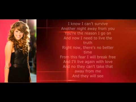 Angie Miller - I Surrender with Lyrics Top 10 American Idol Season 12
