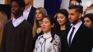 МIНСК TV: Факультет доуниверситетского образования БГУ отпраздновал 55-летие