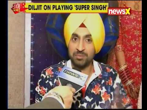 Diljit Dosanjh and Sonam Bajwa in an exclusive conversation with Uday Pratap Singh of NewsX