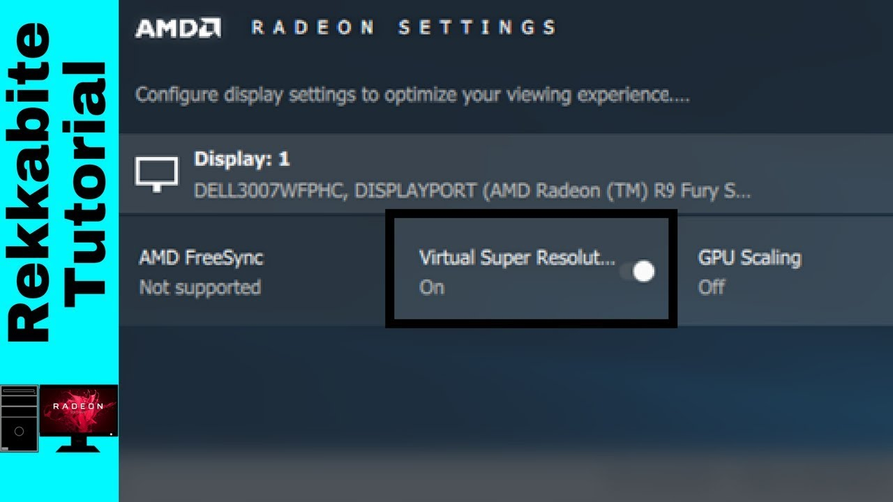 Did AMD's Virtual Super Resolution Ruin My Monitor?