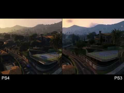Grand Theft Auto 5 / GTA 5 - PS4 vs PS3 - 1080p Comparativa gráfica