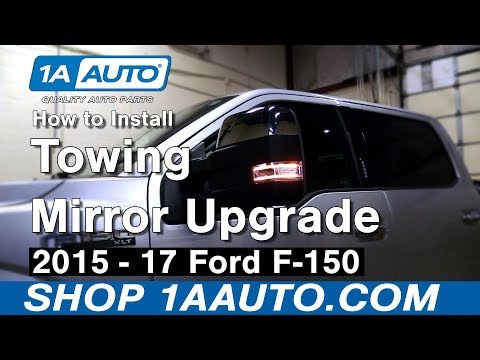2015 2016 2017 Ford F150 Towing Mirror Upgrade Installation