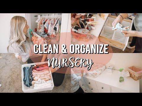 NURSERY ORGANIZATION & CLEANING   TIPS & TRICKS