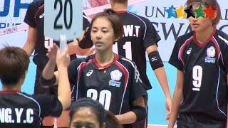 Despite of her disease, Wang Sin-ting proudly represents Chinese Taipei - U-MEDIA SU Gwangju (KOR)
