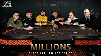 MILLIONS $50K SHORT DECK Final Table #7 LIVE STREAM | MILLIONS Super High Roller Series Sochi 2020