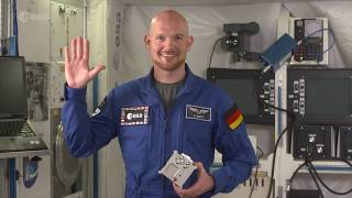 ESA astronaut Alexander Gerst and Raspberry Pi onboard the International Space Station with Astro Pi