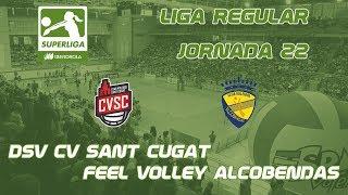 SVF1718 - Jornada 22 - DSV CV Sant Cugat - Feel Voley Alcobendas thumbnail
