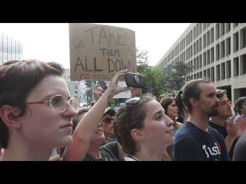 Remove the Albert Pike Statue Rally in Washington D.C. (August 18, 2017)