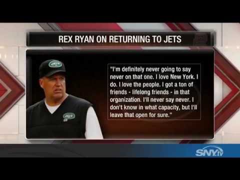 "Rex Ryan on return to New York Jets: ""Never say never"""