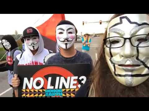 -= Anonymous =-  speaks with ActivateNow in Minnesota - #STOPLINE3