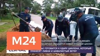 Приамурье готовится к удару циклона с ливнями и сильным ветром - Москва 24