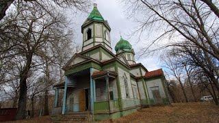 Abandoned church in Chernobyl Zone (Krasne village)