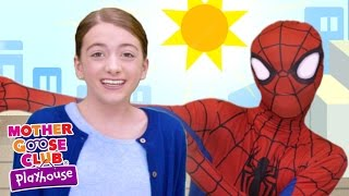 Superhero Learning Song | Itsy Bitsy Spider | Mother Goose C...