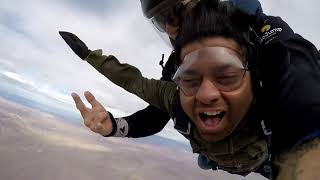 Skydiving in Las Vegas with GoJump