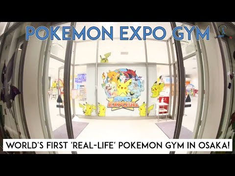Pokemon Expo Gym In Osaka