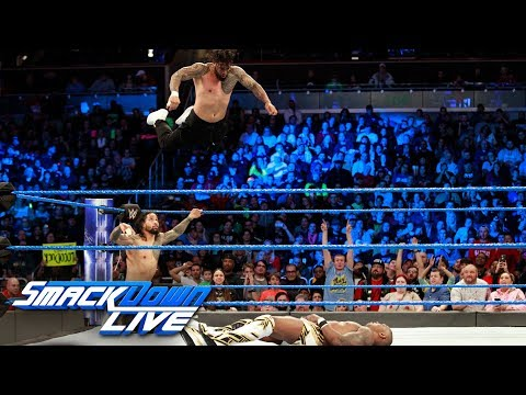 The Usos vs. Gable & Benjamin - SmackDown Tag Team Title Match: SmackDown LIVE, Jan. 2, 2017