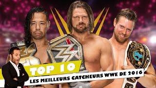 TOP 10  LES MEILLEURS CATCHEURS WWE DE 2016 thumbnail