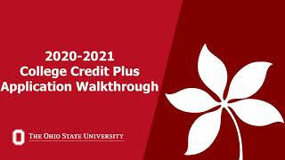 College Credit Plus - Academy The Ohio State University at Mansfield