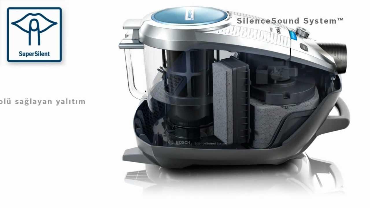 bosch roxx pro silence elektrik s p rgesi soundreducer youtube. Black Bedroom Furniture Sets. Home Design Ideas
