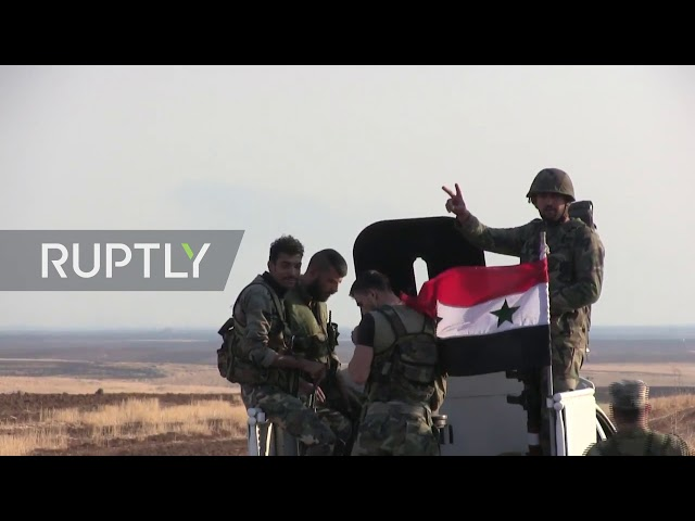 Syria: SAA units return to eastern Qamishli - YouTube