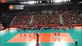 JAPAN - NETHERLANDS Highlight Volleyball friendly Match 2019 ( Set 1, 2)