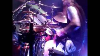 Lamb of God - Grace - Drums Only Studio Audio with Live Drum Cam View