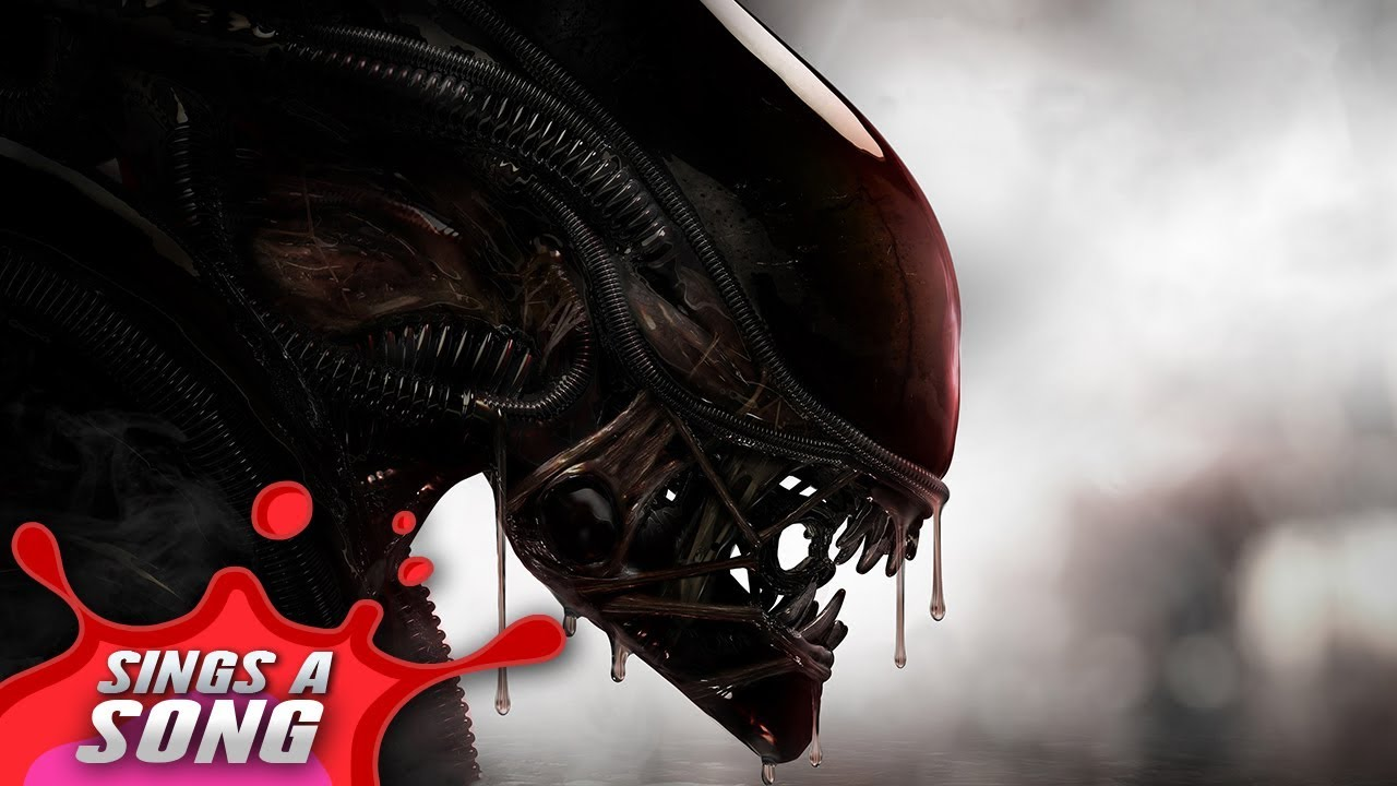 Xenomorph Sings A Song (Scary Alien Horror Movie Parody)