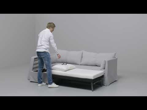 Slaapbank Manhattan Vd.Ikea Sandbacken Hoekslaapbank Youtube