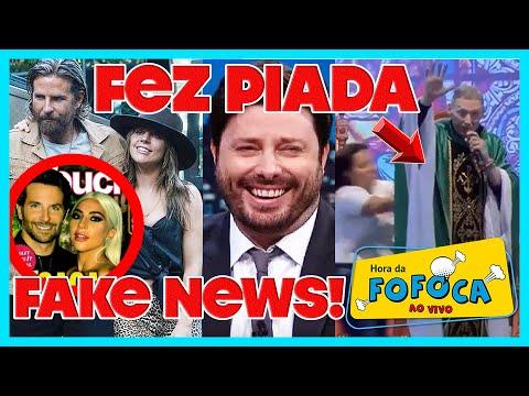 É fake! Lady Gaga se muda p casa de Bradley Cooper + Gentili faz piada com empurrão de Padre Marcelo thumbnail