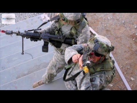 California Army National Guard Infantry Soldiers Conduct Urban Assault Training
