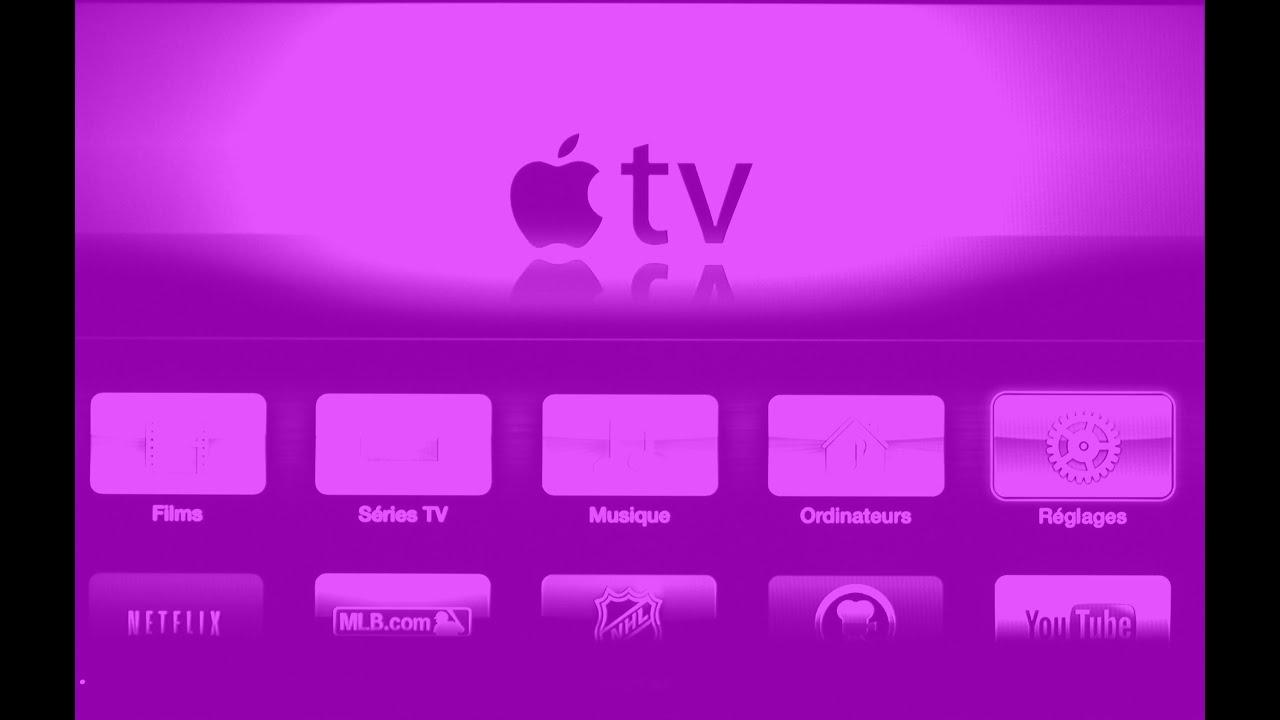 Apple TV purple screen problem