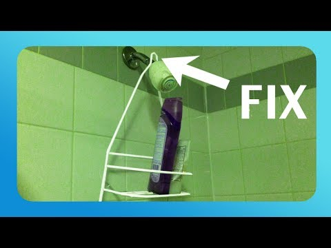 Shower Caddy Diy How To Keep Your Shower Caddy From Falling Youtube
