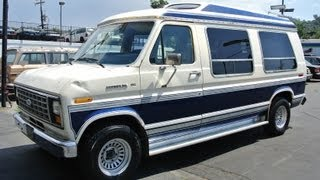 1985 ford econoline van e150 conversion youngtimer export v8 85 high top