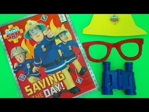 Fireman Sam Saving The Day Official Magazine Issue 126 Full English Review