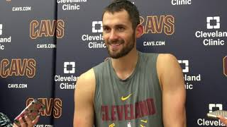 Kevin Love says Richard Jefferson will 'always be a Cavalier'