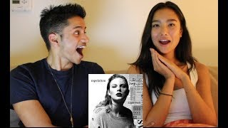 Taylor Swift - Reputation (Reaction) Singer and Model React to New Taylor Swift Album