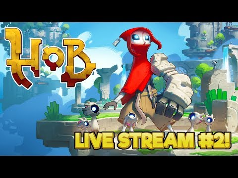 Sprite Saviour - Hob Gameplay - Live Stream part 2
