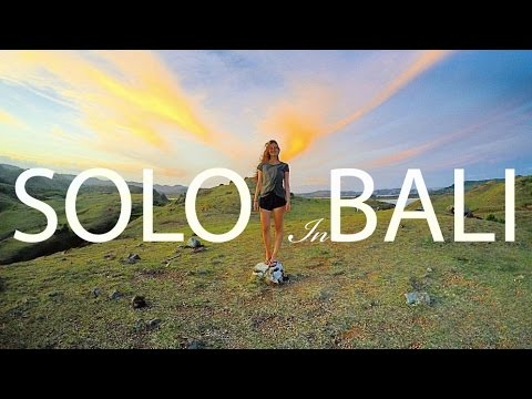 A Solo Backpacker Story | Travel Bali & Lombok | - One Month - One Backpack | Gopro