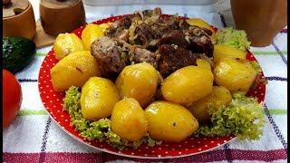 ужин за 1 час Картошка с мясом  Любимый рецепт моего мужа!