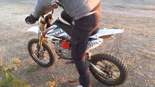 Pit bike demon x 140 's with big wheel conversion