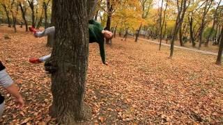 Закрытие сезона уличной акробатики в Приморье