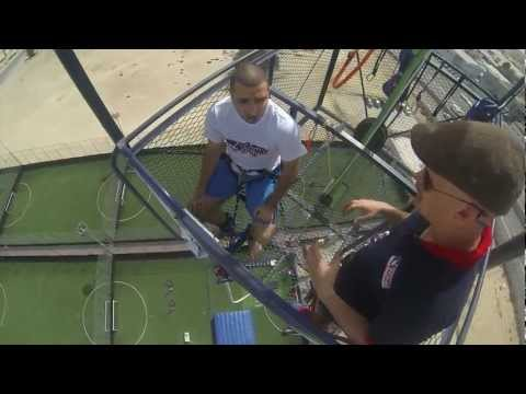 Bungee Jumping in Dubai ( Gravity Zone) ..(If you plan to do it... DON'T look down..lol)