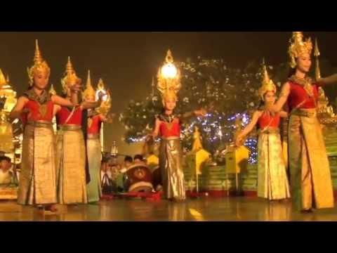 ฟ้อนนางแก้ว ถวายสักการะพระธาตุพนม เทศกาลนมัสการพระธาตุพนม ๒๕๕๘ วันที่ 26 มค 2558