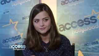 Jenna-Louise Coleman Gets Ready For Doctor Who's 50th Anniversary Special