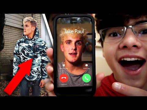 CALLING THE REAL JAKE PAUL!! (HE CAME INTO MY HOUSE)