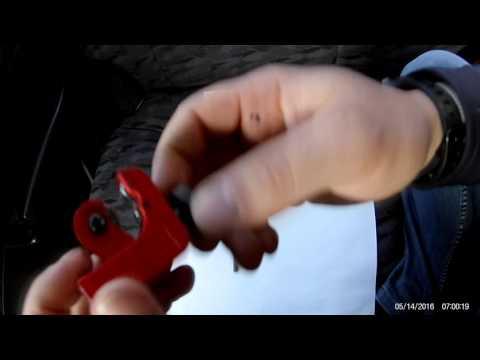 Труборез для медных, латунных, алюминиевых и пластиковых труб