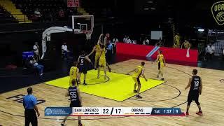 #BCLA - San Lorenzo 86-61 Obras Basket (31/01/2021)