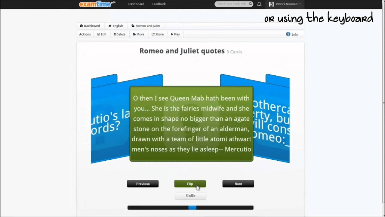 Worksheet Free Online Flashcards how to make free flashcards online with examtime youtube examtime