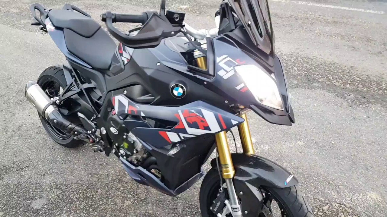 bmw s1000xr full exhaust system youtube. Black Bedroom Furniture Sets. Home Design Ideas