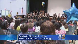 Long Island Students Take Lady Gaga Kindness Challenge